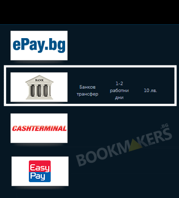 Депозит с банков превод